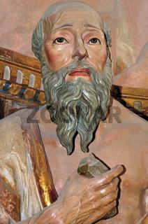 Spanien: Heiliger Hieronymus in San Juan de Ortega