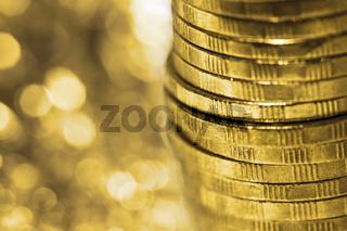 Shine of gold