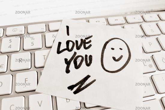Ilove Dating Flirten Freunde Finden Computer tastatur