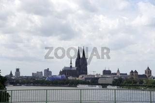 Blick auf den Kölner Dom, Deutschland