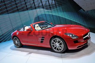 Mercedes SLS AMG auf der IAA
