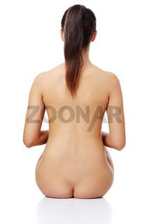 Beauty nude women back
