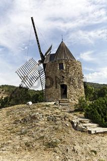 Grimaud, Moulin de la Gardiolle, Provence