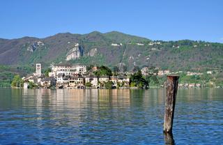 Isola San Giulio im Ortasee