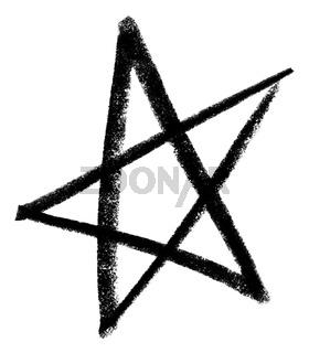 sketched star