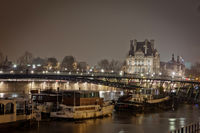 Night view of Paris - France.