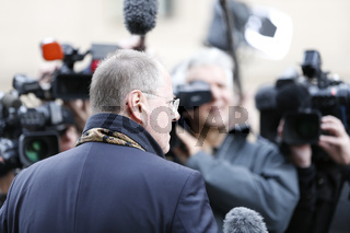 CSU/CDU and SPD exploratory talk for possible German government coalition