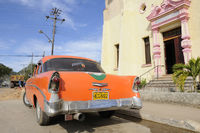 typical old car in cuba, oldtimer