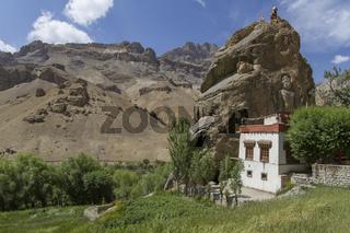 Chamba Kloster in Mulbekh, Ladakh, Nordindien