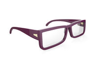 Purple eyeglasses