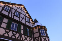 timber-frame house, old town of Oehringen, Hohenlo