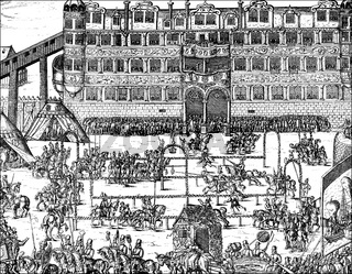 Festival at the Brandenburger Court, Berlin Castle, 16th century