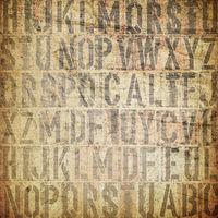 letterpress vintage grunge background