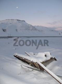 Skansbukta, Spitzbergen, Arktis