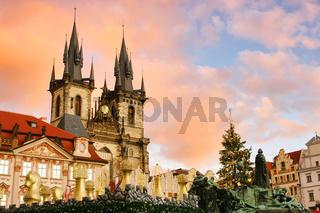 Prag Weihnachtsmarkt - Prague christmas market 01