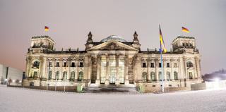 Reichstag winter