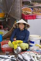 Market-scene,fish,vendors,Phu,Quoc,Vietnam,Asia