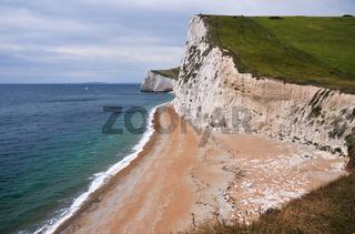 Steilküste in Dorset