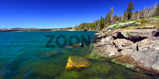Yellowstone Lake in Wyoming