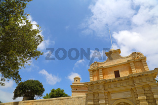 The Gate of in Mdina