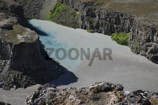 Jökulsárgljúfur canyon. Vatnajökull National Park