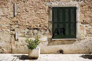 metiterrane Hauswand