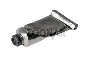 open old metallic paint tube