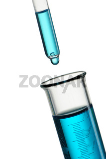 Reagent drop