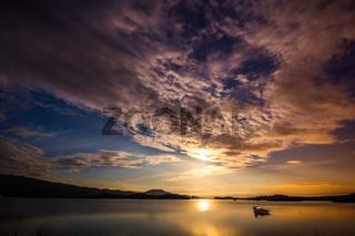 Loch Lomond bei Nacht