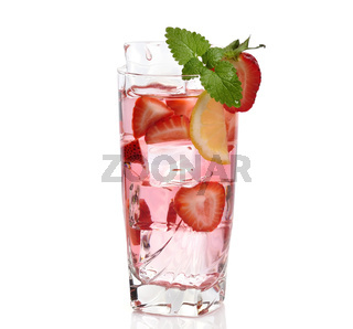 Fruit Drink With Ice