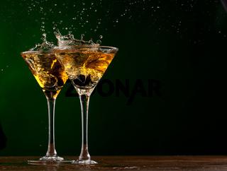 Splash martini
