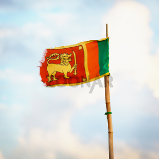 Democratic Socialist Republic of Sri Lanka flag