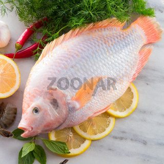 Freshness reddens the Nile Tilapia fish (Oreochromis niloticus)
