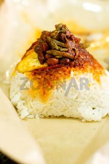 nasi lemak, malaysia food