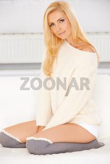 Lady in a Sweatshirt