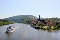 Neckargemuend near Heidelberg