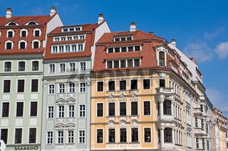 Bebauung am Neumarkt in Dresden