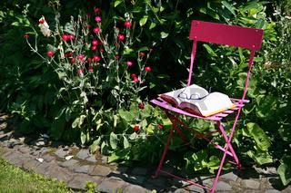 Platz zum Entspannen im Garten
