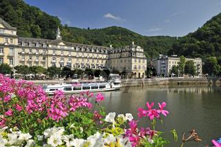 Das Kurhotel und das Staatliche Kurhaus in Bad Ems, Rheinland-Pfalz, Deutschland, Europa