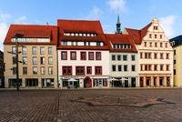 market square freiberg historic buildings