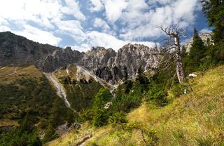 rocks in Bavarian Alps