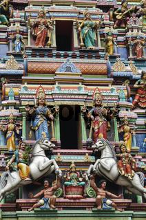 Hinduistische Tempelfiguren