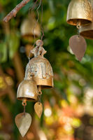 Buddhist wishing bells, Thailand