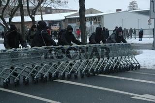Dresden 2010, Massenblockade