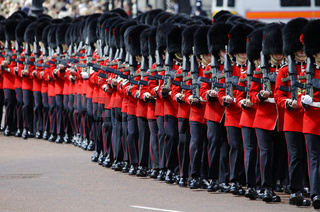 Trooping the Colour, London 2012