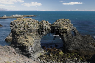 Cliffs of the southern coast of the Snæfellsnes peninsula