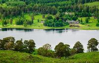scotland loch tulla cottage
