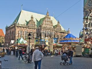 Kleiner Freimarkt am Bremer Marktplatz