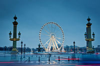 The big wheel in Paris, Place de la Concorde