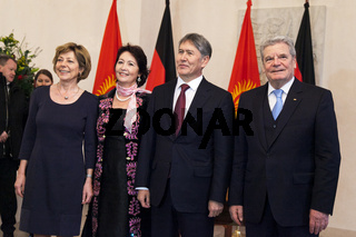 Gauck receives Atambayev